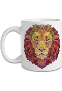 Caneca Blitzart Geometric Lion
