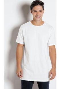 Camiseta Com Estampa Nas Costas Branca
