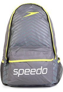 Mochila Speedo Essential Sport - Unissex-Chumbo