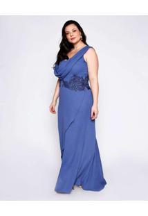 Vestido Almaria Plus Size Pianeta Plus Size Longo