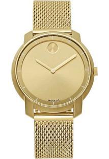 7a9d5ad9b68 Relógio Digital Dourado Spikes feminino