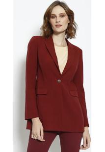 929658d437 ... Blazer Joelma Scarlet - Vermelho Escuro - Le Lis Blale Lis Blanc