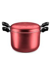 Panela Espagueteira Cereja Alumínio Antiaderente 8961 Mta
