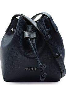 Bolsa Corello Mini Bucket Roberta Eco Floater Corello Cross Bag Azul