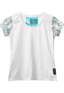 Camiseta Baby Look Feminina Algodão Manga Curta Macia Estilo - Feminino