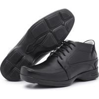 cd46ef2ff2 Sapato Social Conforto Top Franca Shoes Preto