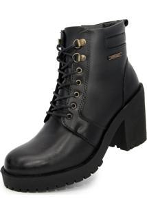 Bota Cano Curto Over Boots Valent Preta