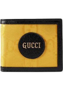 Gucci Carteira Dobrável Off The Grid Gg Supreme - Amarelo