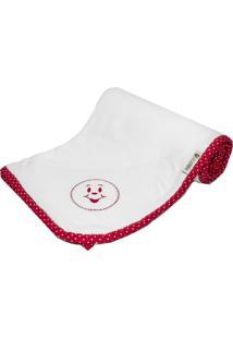 Cobertor Cuca Criativa Vermelho - Tricae