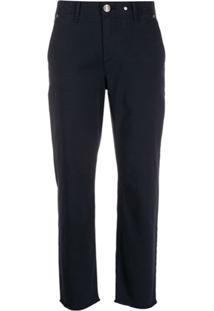 Rag & Bone Cropped Slim-Fit Trousers - Azul