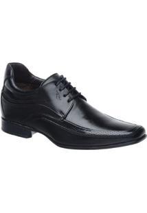 Sapato Couro Rafarillo Masculino - Masculino-Preto