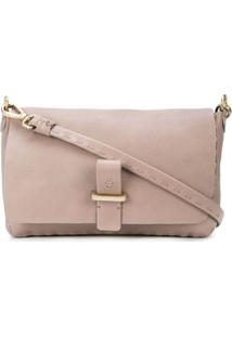 Henry Beguelin Foldover Top Satchel Bag - Marrom