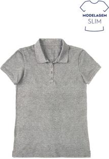 Camisa Pólo Hering feminina  709f0b9cb1925