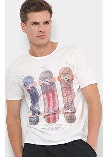 Camiseta Mood Retro Shape Masculina - Masculino