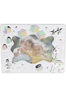 Porta Retrato Kids Abc 10X15 - Prestige - Cinza