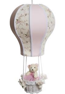 Lustre Balã£O Cintura Ursa Quarto Beb㪠Infantil Menina Potinho De Mel Rosa - Rosa - Menina - Dafiti