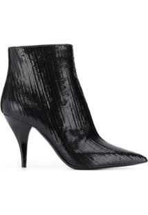 Casadei Bota Delfina Fish Mooney - Preto
