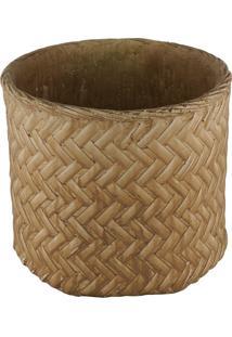Vaso Decorativo De Cimento Hilde M