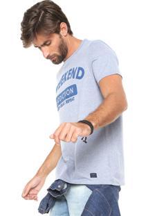 Camiseta Hering Weekend Azul