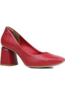 Sapato Dakota Scarpin Bico Quadrado Salto Grosso