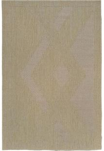 Tapete Natural Look 150Cm Bege Sl1212-Cor2 Redondo