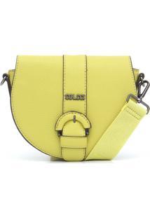 Bolsa Colcci Recortes Amarela