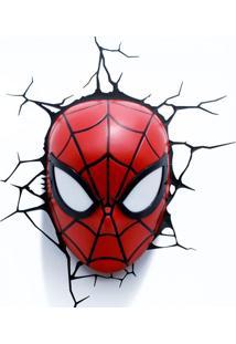 Arandela 3D Mascara Homem Aranha 0,5W