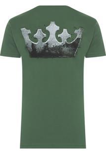 Camiseta Big Shirt Coroa Xilo - Verde
