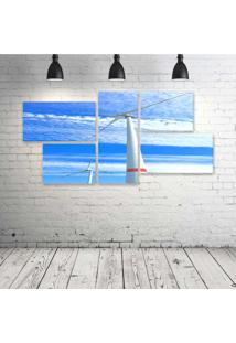 Quadro Decorativo - Wind-Power - Composto De 5 Quadros