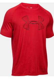 Camiseta Under Armour Tech Camo Big Logo Ss - Masculino
