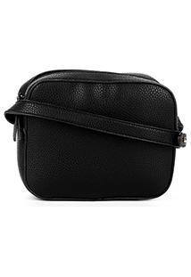 Bolsa Shoestock Mini Bag Crossbody Feminina - Feminino-Preto