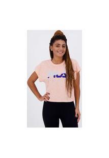 Camiseta Fila Honey Iii Feminina Rosa