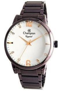Relógio Feminino Champion Analógico - Elegance Cn25529L - Feminino-Vinho