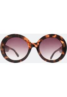 528633fdf121c Óculos De Sol Flanela Redondo feminino   Starving
