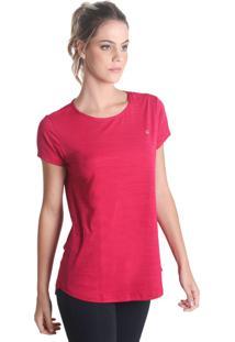 Camiseta Levíssima Mescla - Rosa - Líquido