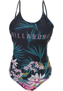 Maiô Billabong Lush Night Preto