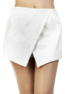 Short A.Cult Jacquard Branco