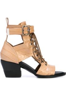 Chloé Ankle Boot 'Rylee' - Marrom