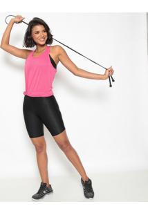 Regata Nadador Em Micro Furos- Rosa Escuro- Patrapatra