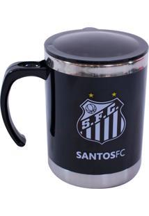 Caneca Minas De Presentes Santos Preta - Kanui