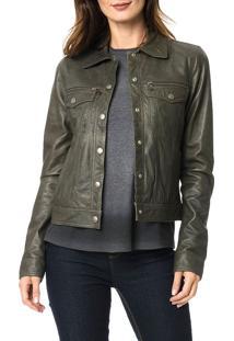 Jaqueta Calvin Klein Jeans Bolsos Militar - 38