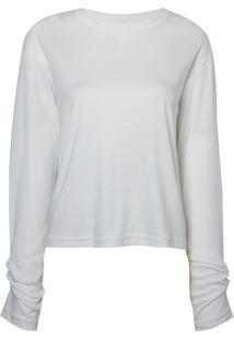Blusa Amy Piercing (Off White, Gg)