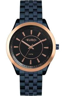 Relógio Euro Feminino Color Slim - Eu2035Yox/4A Eu2035Yox/4A - Feminino-Azul