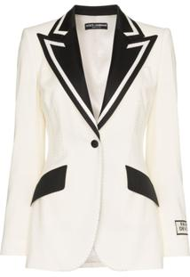 Dolce & Gabbana Blazer 'Fashion Devotion' - Branco