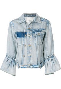 3.1 Phillip Lim Jaqueta Jeans - Azul