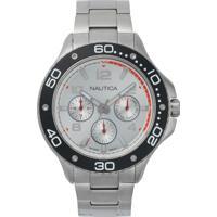 39a848abb1f Relógio Nautica Masculino Aço - Napp25005