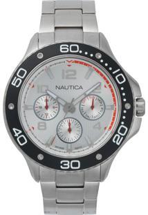 a6115fff0c6 ... Relógio Nautica Masculino Aço - Napp25005