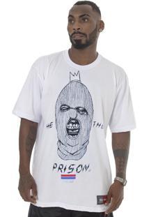 Camiseta Prison Gangster Branca