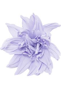 Erika Cavallini Broche Floral - Roxo