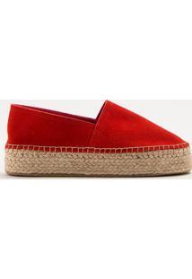 Alpargata Flatform Acamurã§Ada- Vermelhainbox Shoes